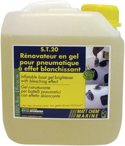 Plastic cleaner / multi-surface / for inflatable boats / biodegradable S.T.20 MATT CHEM MARINE