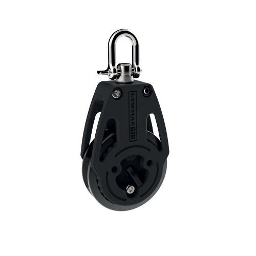 ratchet block / single / with swivel / with shackle