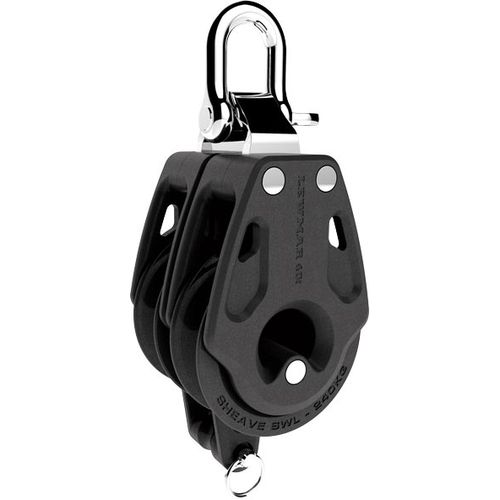 ball bearing block / double / with becket / with shackle