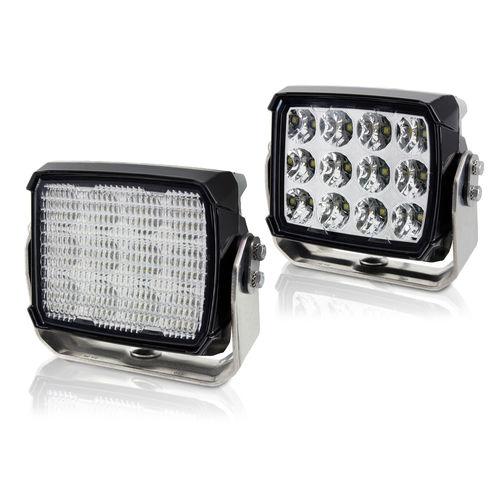 deck floodlight / for boats / LED / adjustable
