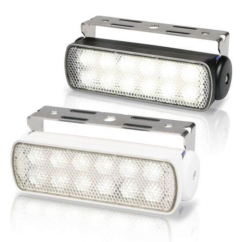 Deck floodlight / for boats / LED / adjustable 0670 SEA HAWK Hella Marine