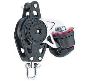 cam cleat block / single / with swivel / with cleat