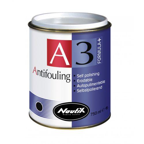 Pleasure boat antifouling / self-polishing / high-performance / fiberglass A3 Formula+ Nautix
