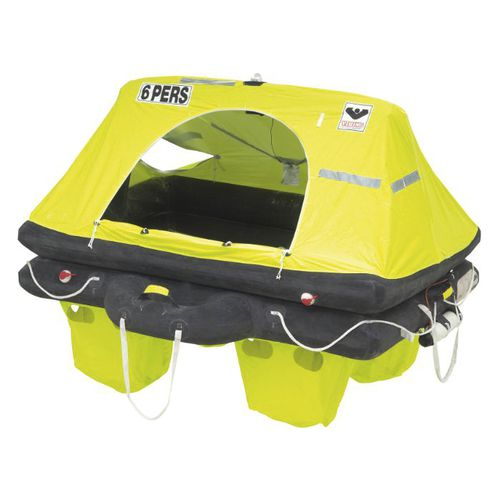 yacht liferaft / ISO 9650-1 / inflatable