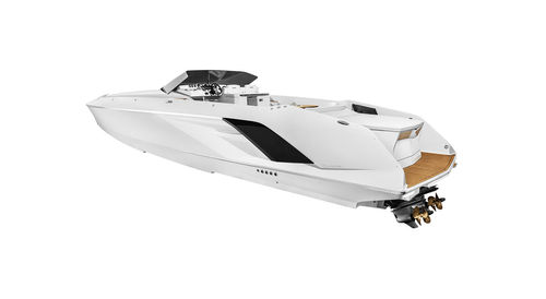 Inboard runabout / stepped hull / dual-console / offshore 1414 Demon FRAUSCHER BOOTSWERFT