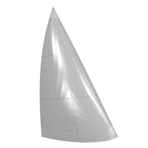 code 0 / for cruising sailboats / for cruising multihulls / radial cut