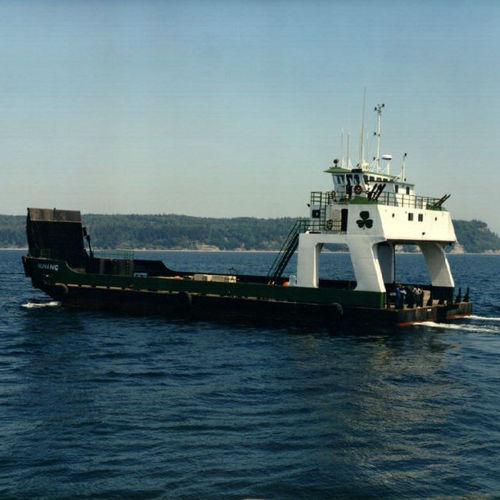 Ro-Ro river ferry