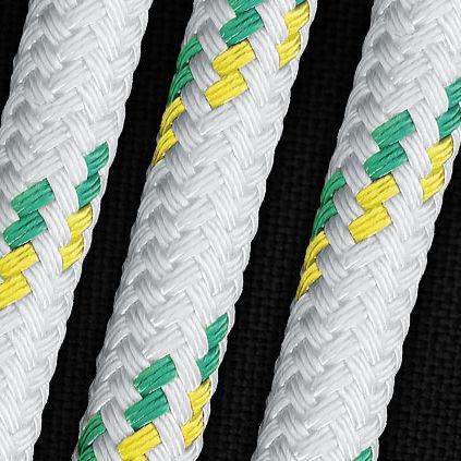 sheet cordage / double-braid / for racing sailboats / polyethylene core