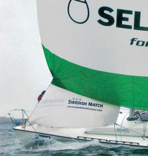 sailboat spinnaker pole / aluminum