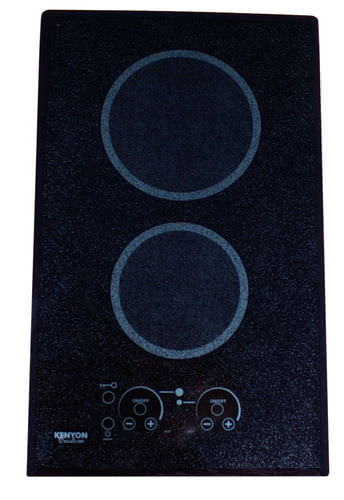 electric cooktop / for boats / two-burner