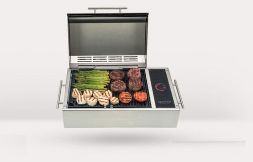 electric marine barbecue