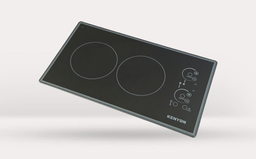 Electric cooktop / for boats / two-burner LITE-TOUCH Q® CORTEZ 2 BURNER Kenyon International, Inc.