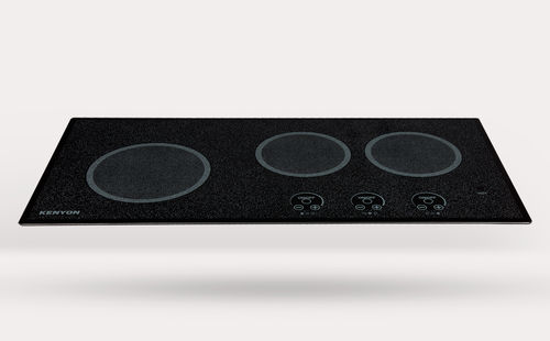 electric cooktop / for boats / three-burner