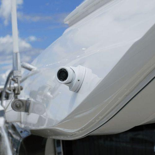 boat video camera / CCTV / low-light / color