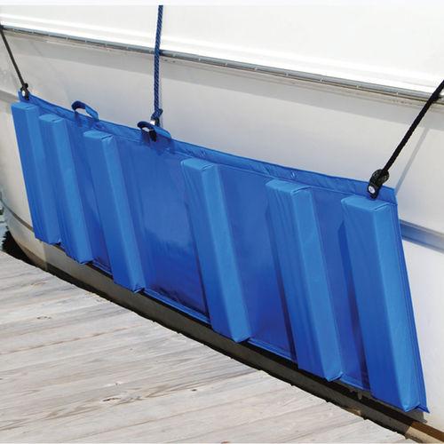 boat fender / rectangular / foam-filled