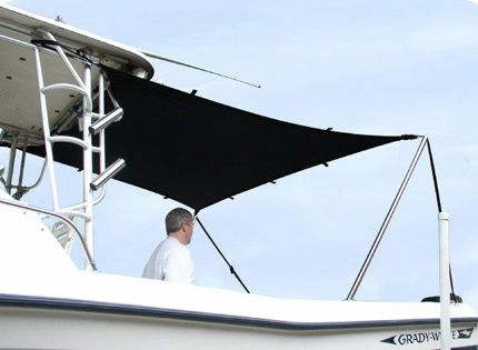 power boat awning