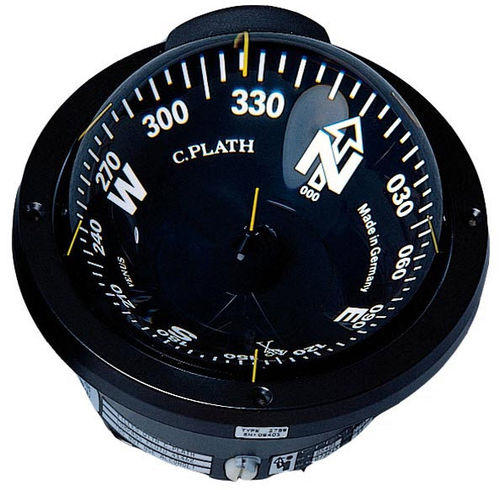 boat steering compass / magnetic / horizontal / built-in