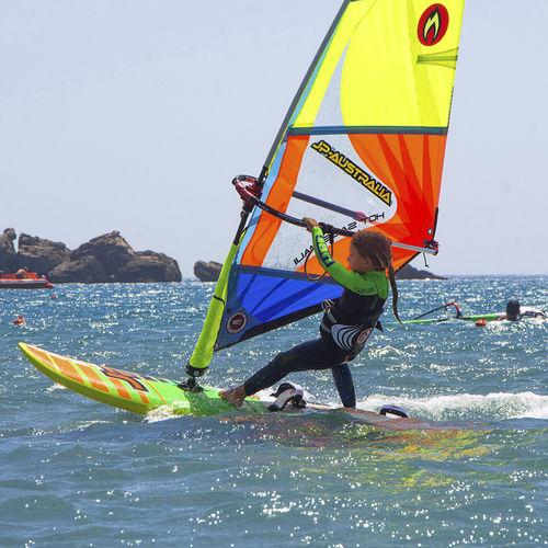 freeride windsurf board / quad-fin / child's