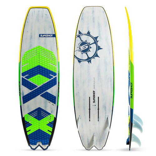 surf kiteboard / hydrofoil / all-around / recreational