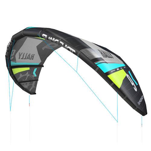 C-shape kitesurf kite / delta / freeride / entry-level