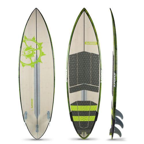 surf kiteboard / all-around / tri-fin