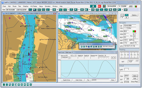 Navigation software / for boats SEAPRO STANDARD Euronav