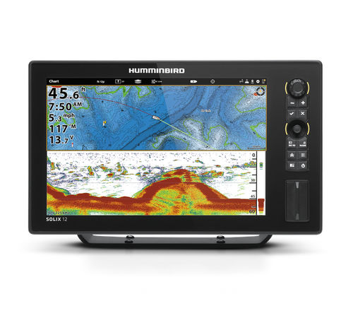 Chart plotter / sonar / GPS / marine SOLIX 12 Humminbird