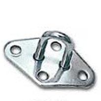 Fixed pad eye for sailboats / U-shaped ACMO