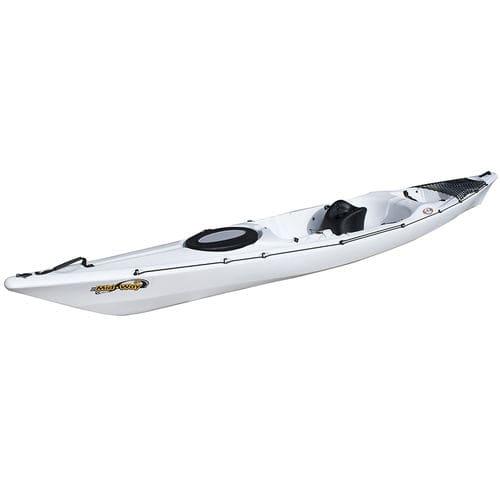 sit-on-top kayak / rigid / sea / touring