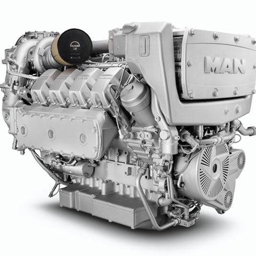 diesel ship engine / turbocharged / common-rail / Tier 1