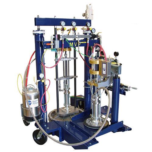 methacrylate adhesive spraying machine / mobile / shipyard