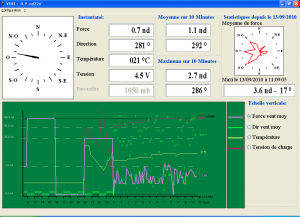 Weather software / for boats StatMETEO LCJ Capteurs