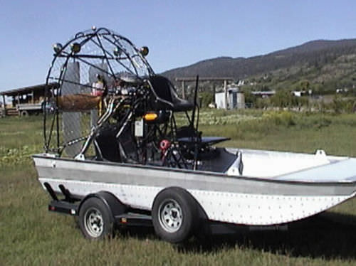 Turbine airboat 16X8 Canadian Airboats