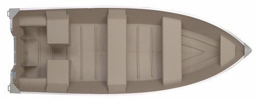 Outboard small boat / 5-person max. V1670L Polar Kraft