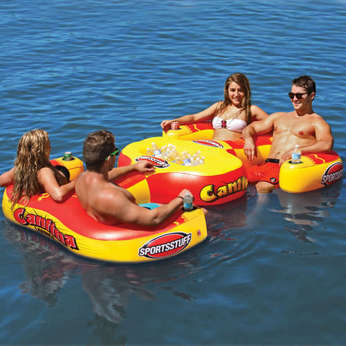 4-seater floating sofa