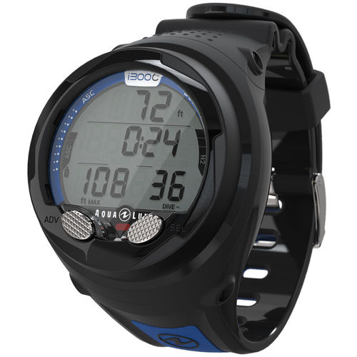 wrist dive computer / air / nitrox / wireless data transfer