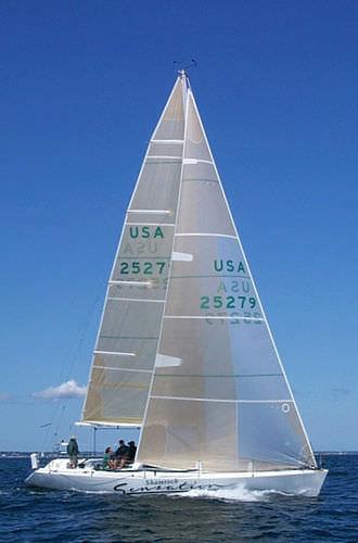 mainsail / headsail / for racing sailboats