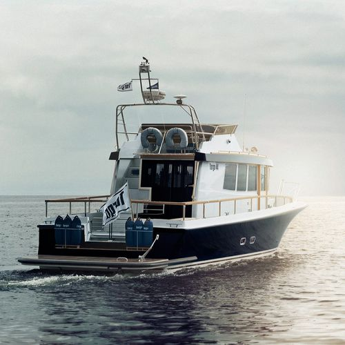 IPS POD walkaround / wheelhouse / flybridge / sport-fishing