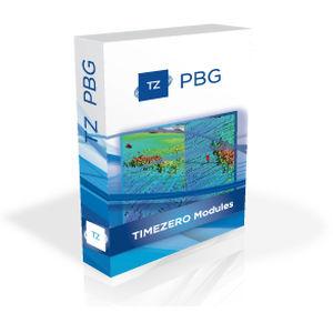 Depth sounder software / recording / for boats TZ PBG Module MaxSea International