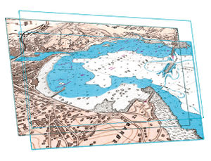 Digital nautical chart RASTER  MaxSea International