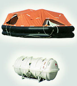 ship liferaft / SOLAS / davit-launched / inflatable