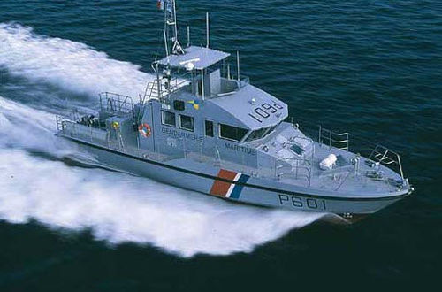 Offshore patrol special vessel OPV 40 Raidco Marine