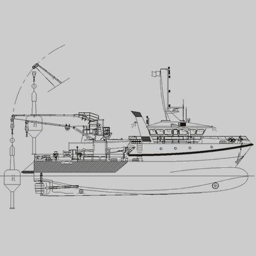 buoy tender multi-purpose vessel / coastal