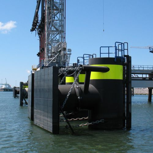Harbor fender / pier / closed-cell SCK series Trelleborg Marine Systems