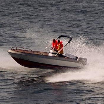 outboard center console boat / center console / side console / open