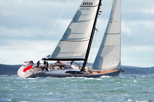sailing yacht mast / carbon / custom
