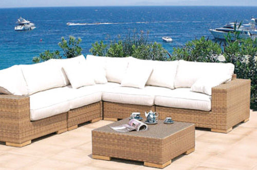 exterior decoration fabric for marine upholstery