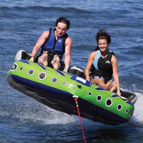 2-person max. towed buoy