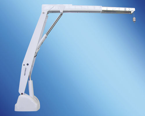 boat davit / for yachts / hydraulic / retractable