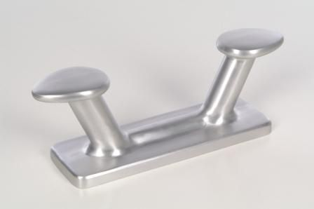 double mooring cleat / for boats / aluminum